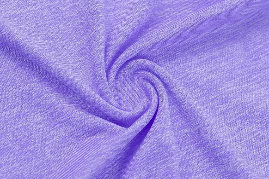 Cation Polyester Sports Fabric Knit Printing Colorful Fabric For