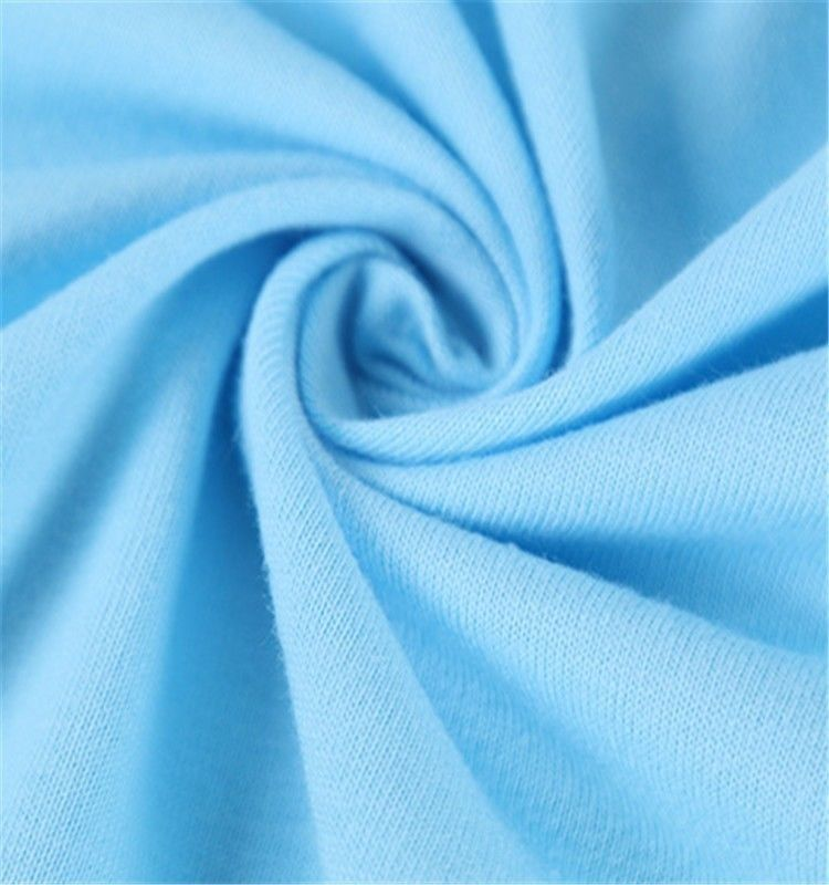 488c37feeca Plain Dyed Cotton Jersey Material , 100 Cotton Jersey Knit Fabric Anti  Bacterial